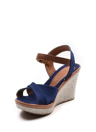 Sapin Sandalet Lacivert